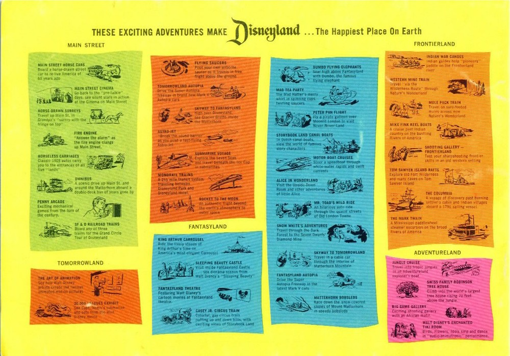 Walt Disney's Guide to Disneyland 1963
