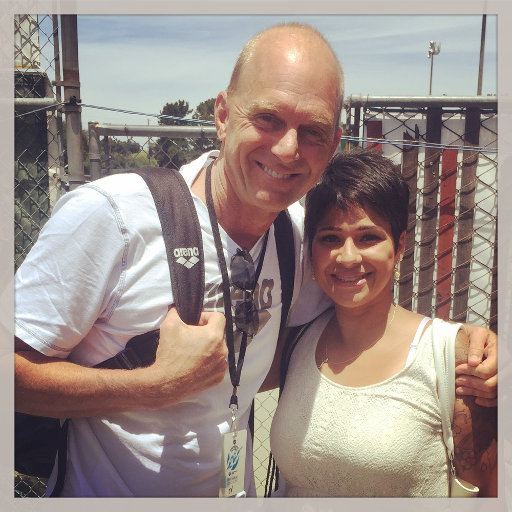 Such a pleasure to meet Rowdy Gaines!