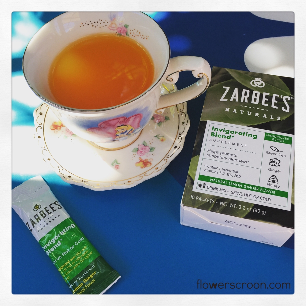 Zarbee's Invigorating Blend is the perfect afternoon pick-me-up!