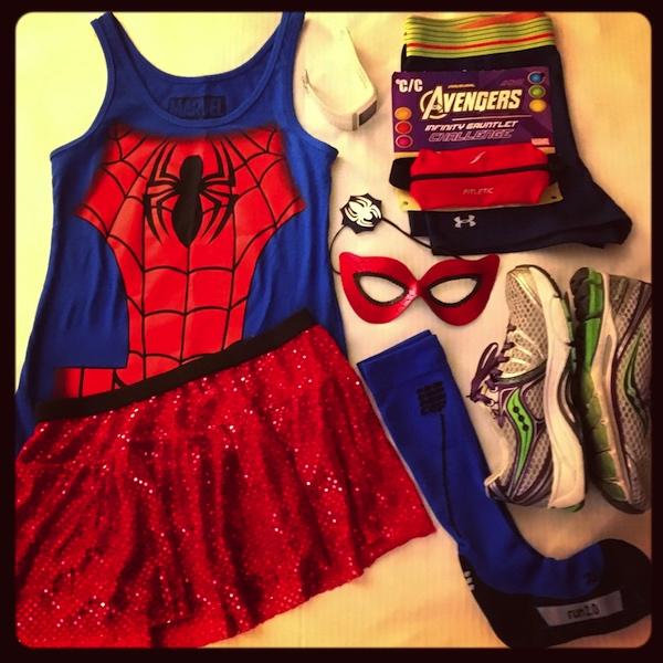 Spider-Girl Costume