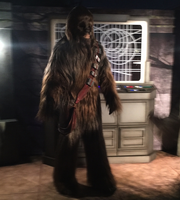 Chewbacca is giving out hugs again!
