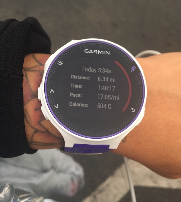 I love my new Garmin!