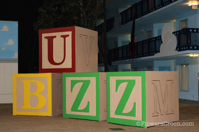 Disney All Star Movies Review Buzz Blocks