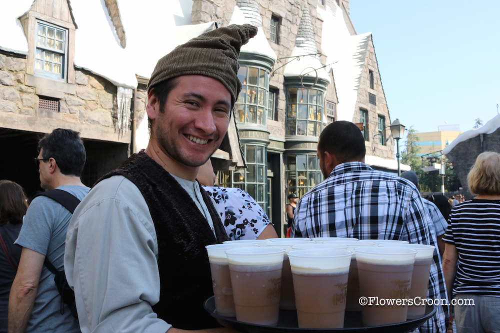 The employees at Hogsmeade are lovely