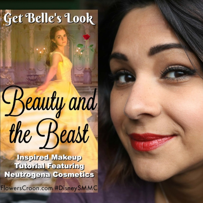 c820f8e5f2d Beauty and the Beast Makeup Tutorial with Neutrogena Cosmetics #DisneySMMC  — wonderland diaries