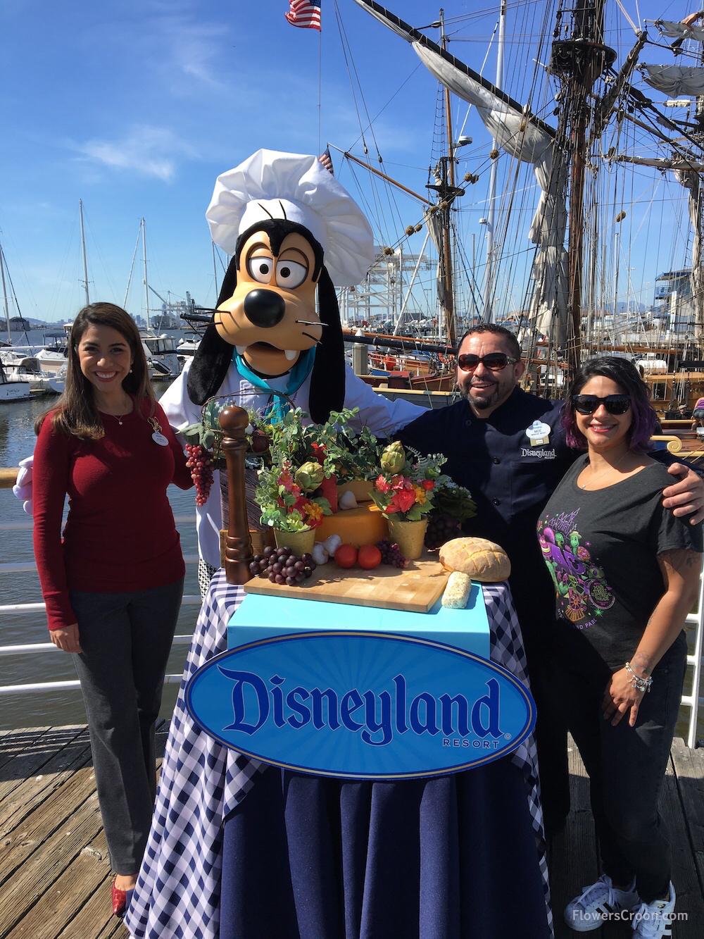 Disneyland Ambassador Alexa Garcia + Chef Moe