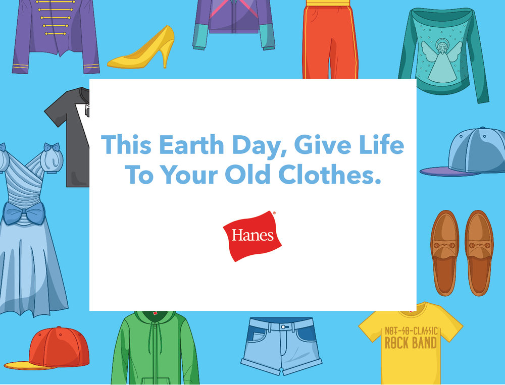For more info visit: Hanes.com/givebackbox