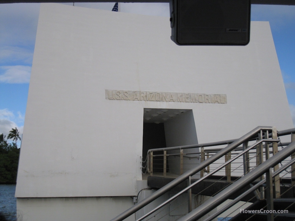 USS Arizona Memorial Entrance