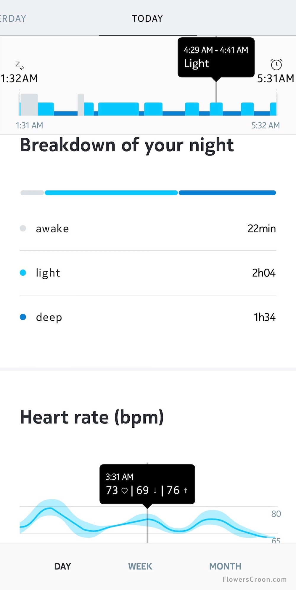 nokia health mate tracks sleep