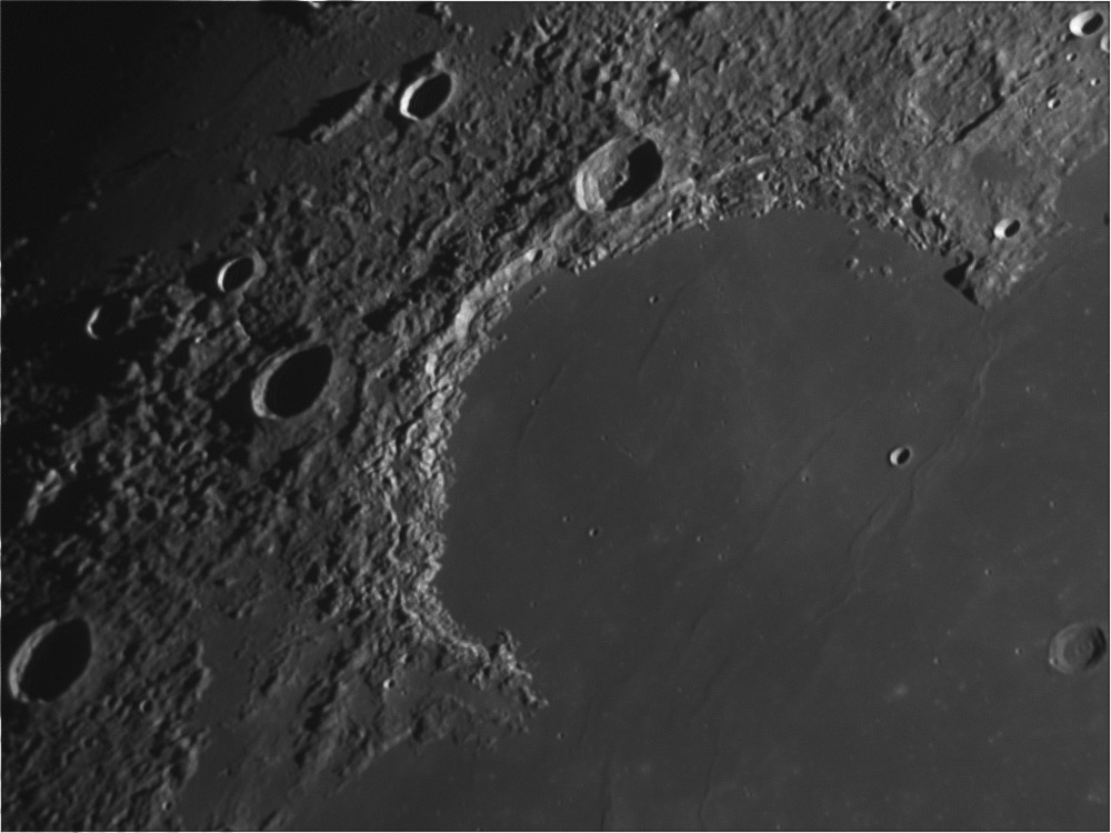 Sinus Iridum,  LPOD on 27th April, 2011 .