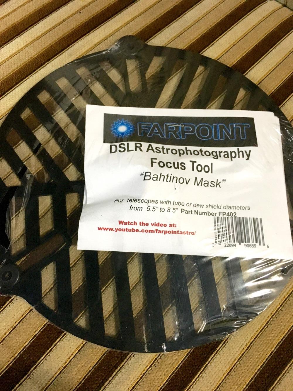 Farpoint Bahtinov Mask