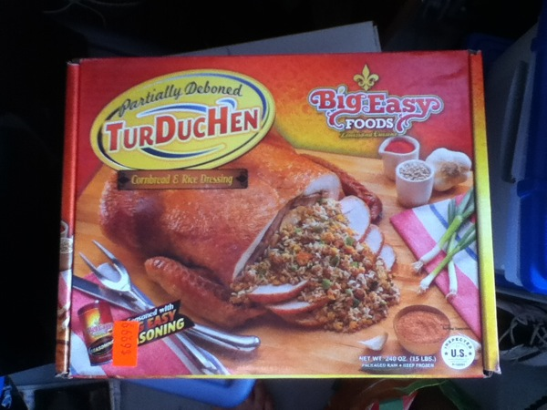 """This says """"TurDucHen"""", but we all know that's not how it's spelled!"""