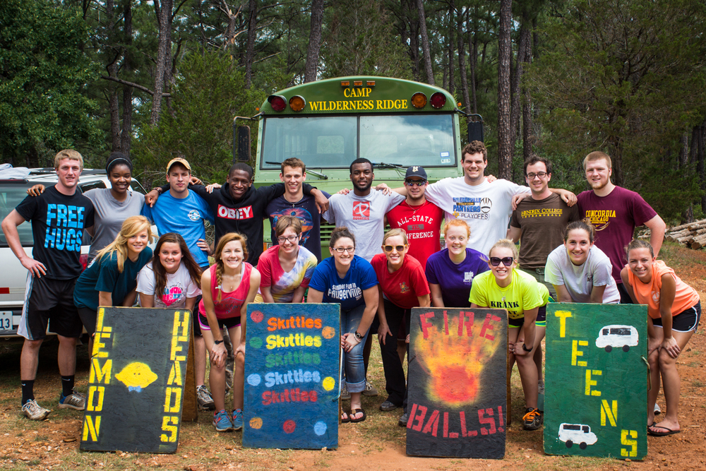 Group shot of our fantastic 2013 Pfun Camp Counselors!
