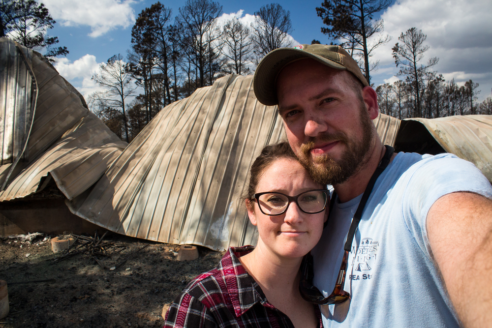 Bryan and Claire - post-fire house.jpeg