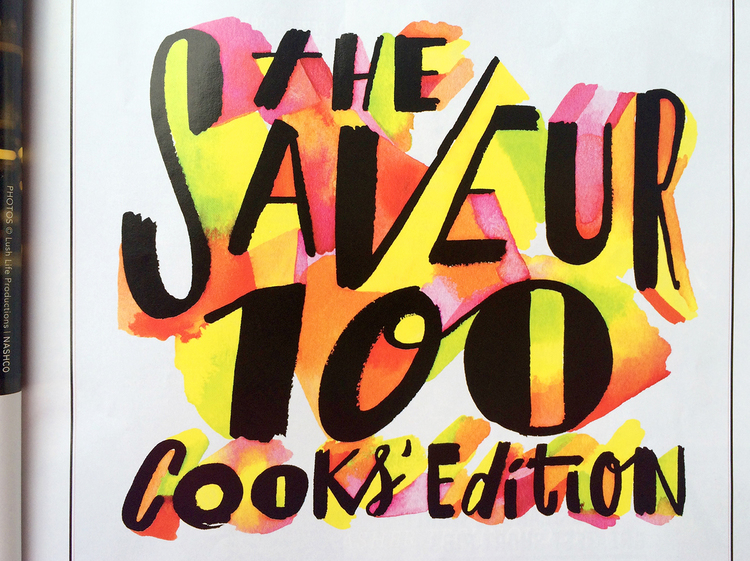 Saveur Magazine / AD Adam Bookbinder + Allie Wist