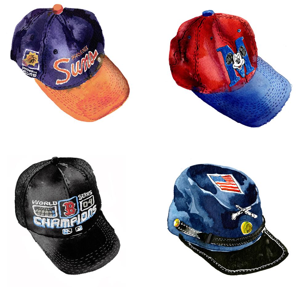 March Caps  / AD Barclay Douglas