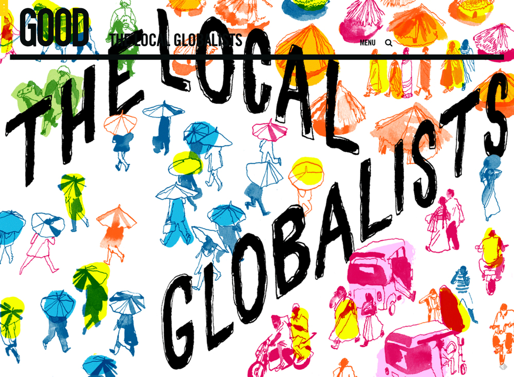 Title Page for The Local Globalists