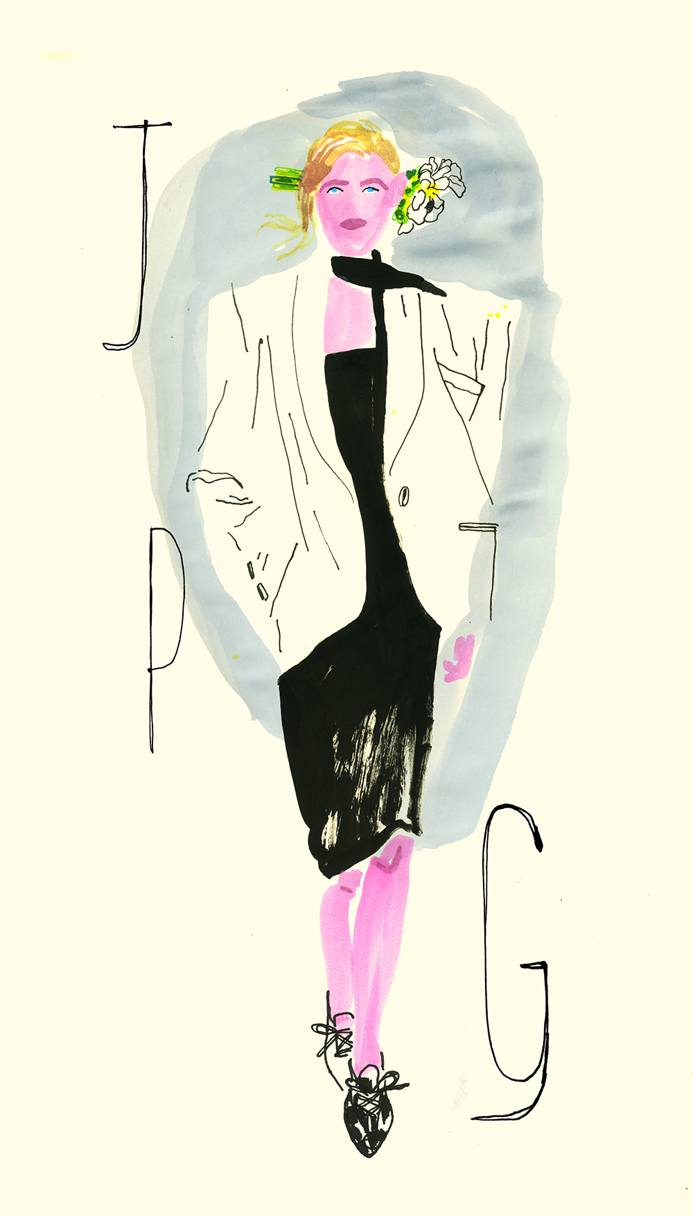 Jean Paul Gaultier S/S 15 Couture