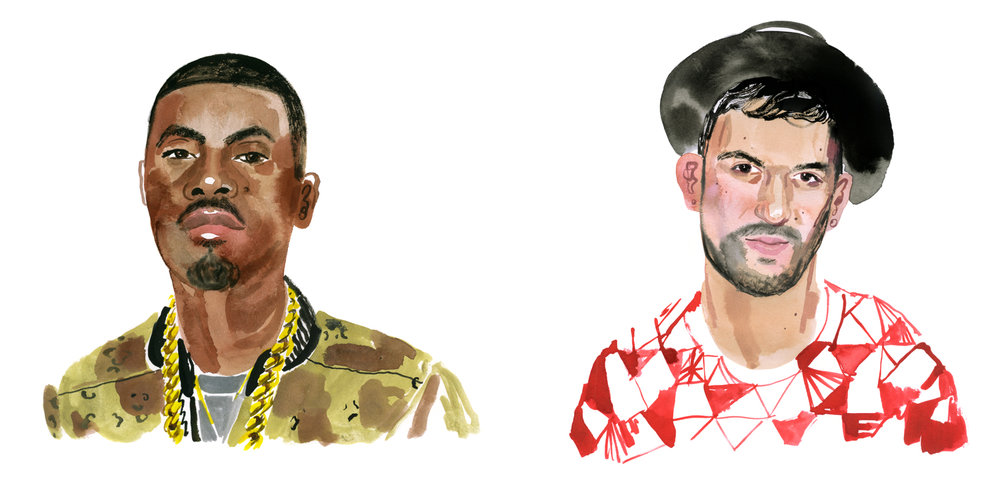NAS and DJ A-TRAK