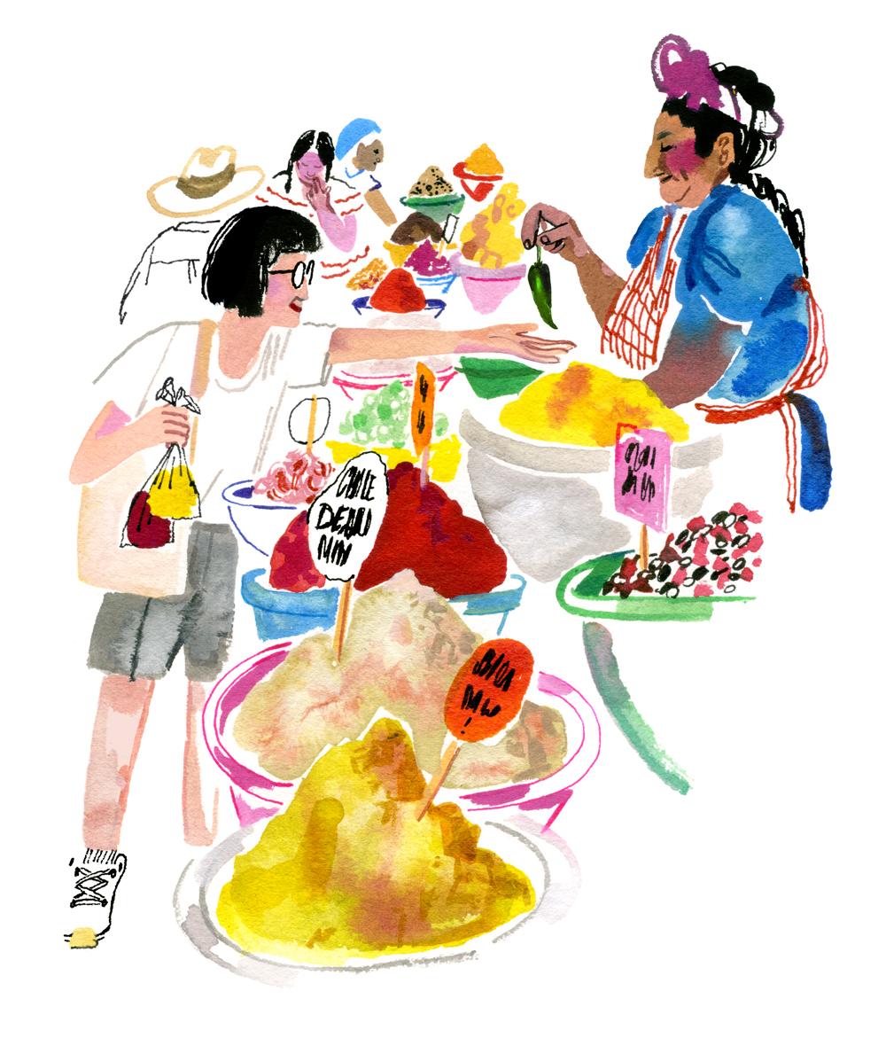 Oaxaca Spice Market