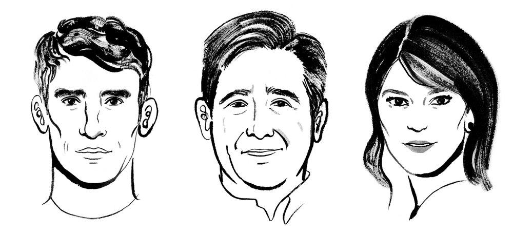 Steven Grubbs, Ray Isle, Gail Simmons
