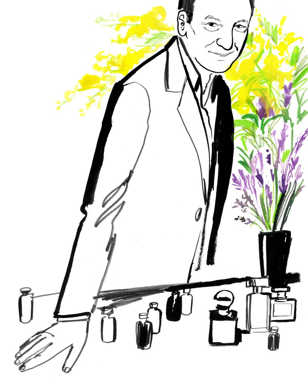 Perfumer Harry Fremont
