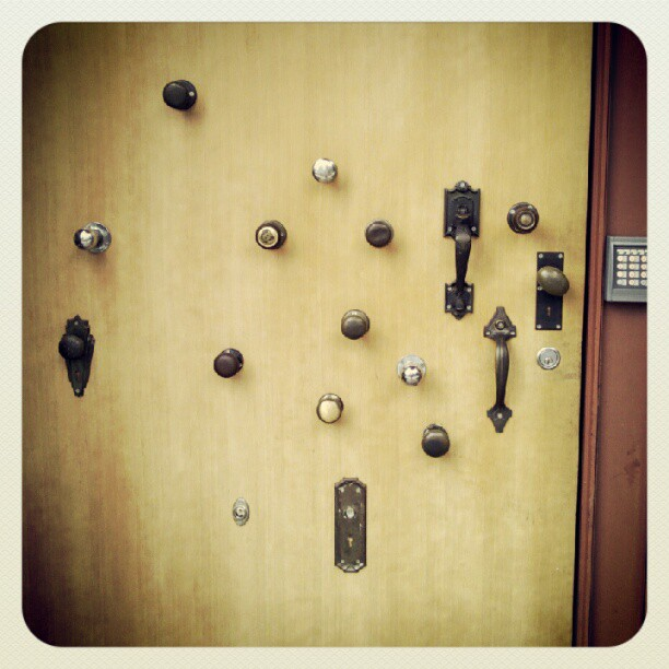 Knobs. @ Mississippi Ave. #pdx