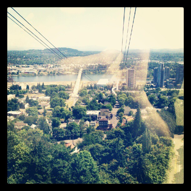 Aerial tram. #pdx