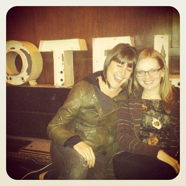 @ the ACE Hotel with  @geobektric  #pdx.