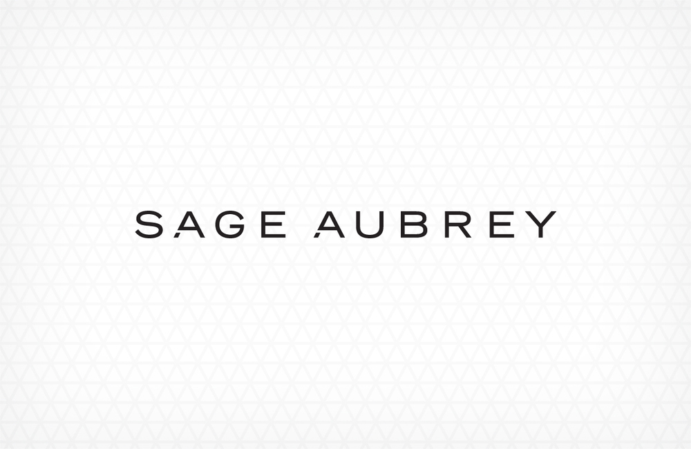 Sage Aubrey  •  Luxury handbags with proceeds going towards global female empowerment. Designed at Meat and Potatoes. Creative Director: Todd Gallopo.