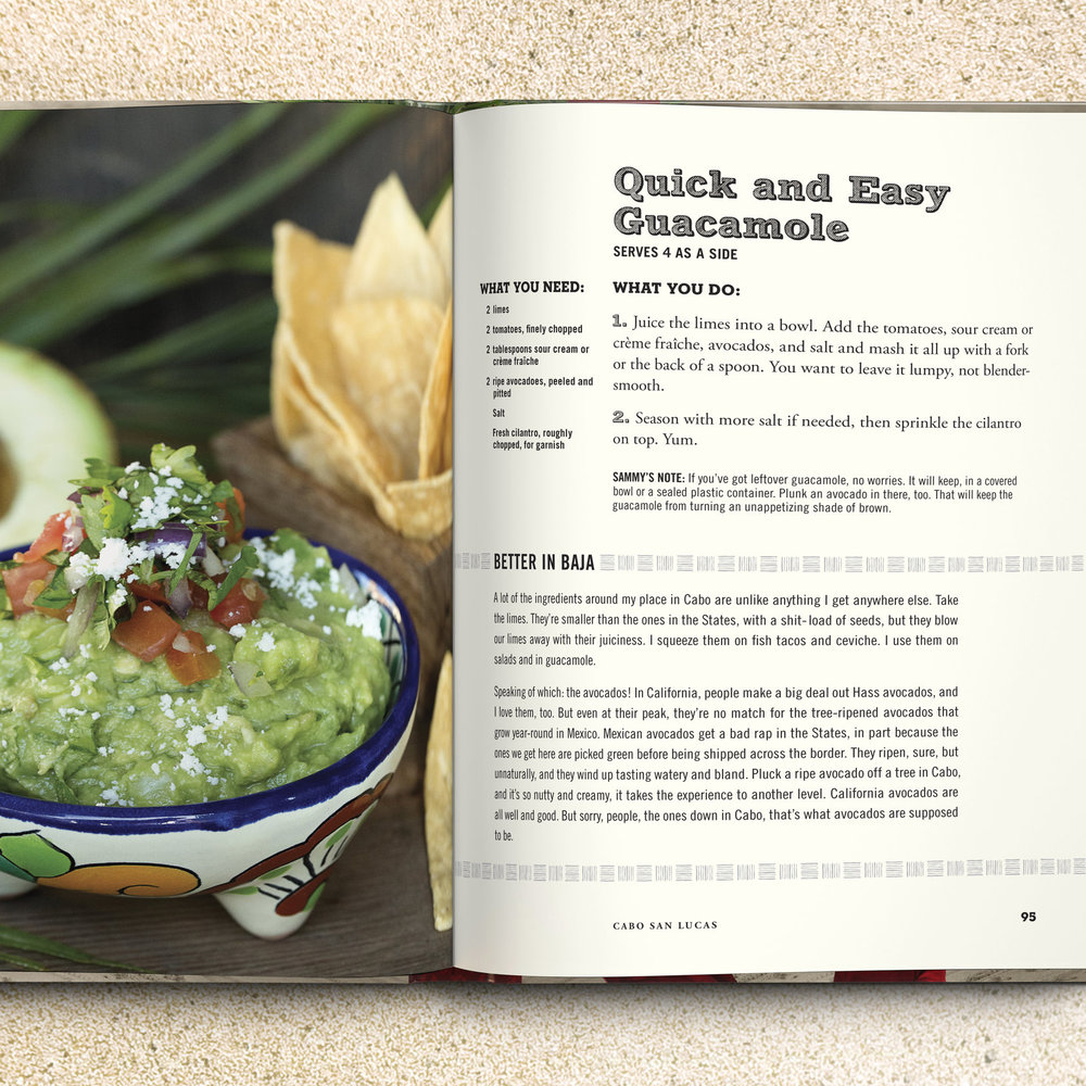 Sammy Hagar's Cookbook   See More →