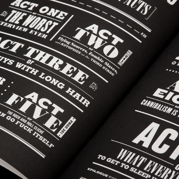 Neil Strauss book design   See More →