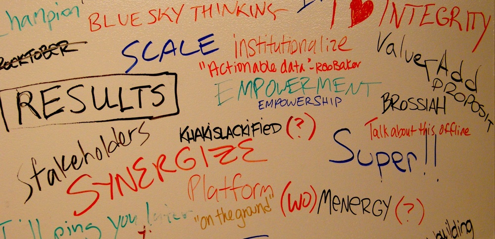 OpenGov Hub - Wall of Cliches