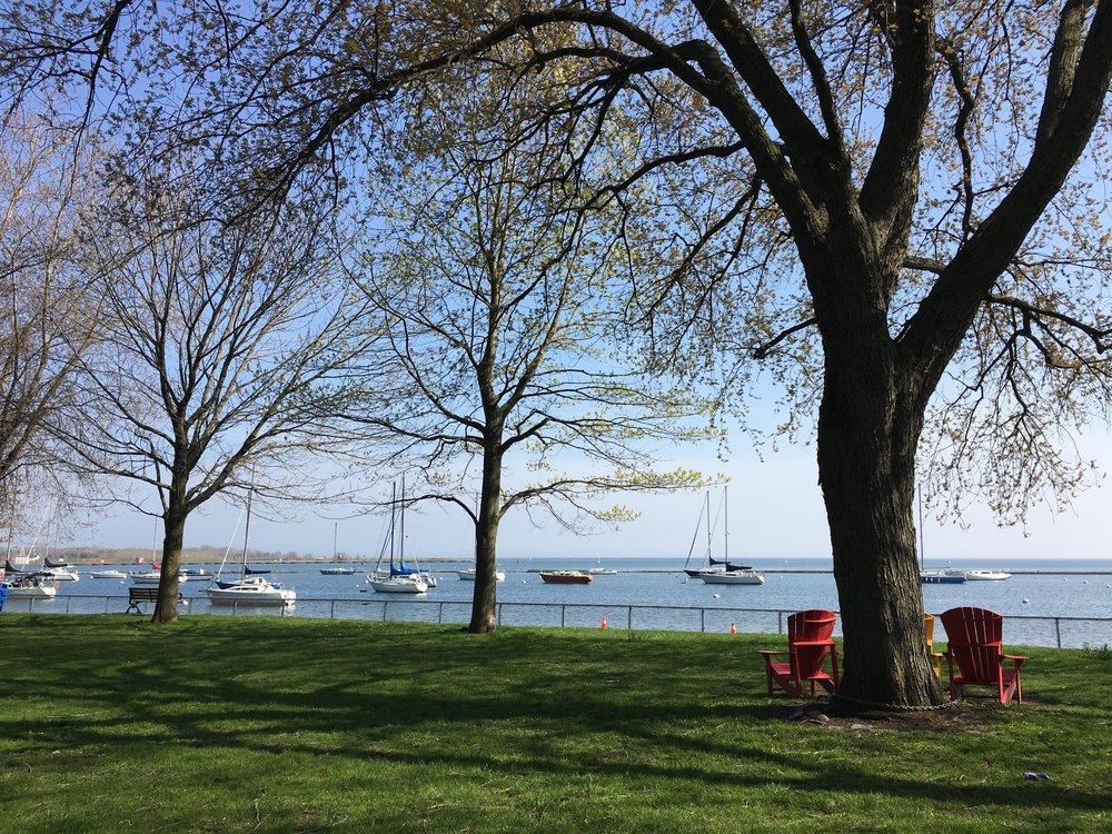 The Toronto conference setting: Lake Ontario