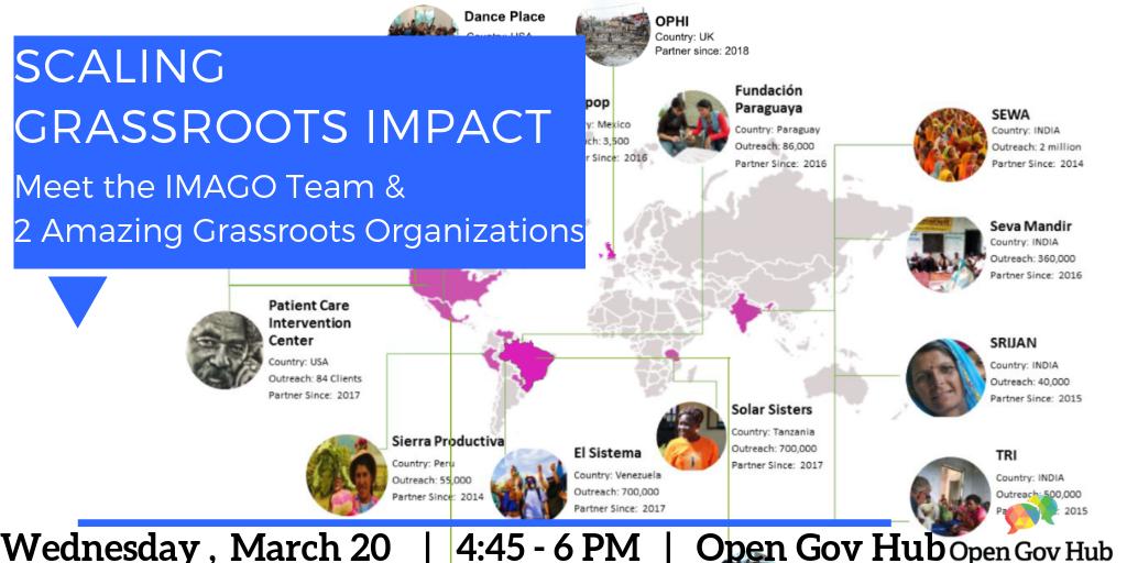3cf2bdd640f Scaling Grassroots Impact  Meet IMAGO  amp  2 Amazing Grassroots  Organizations