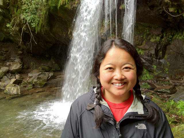 A photo of me at Grotto Falls by  brandon.ballentine  on Flickr.