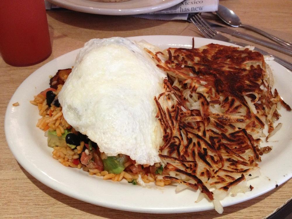 Café Buna: The Buna Omelette.