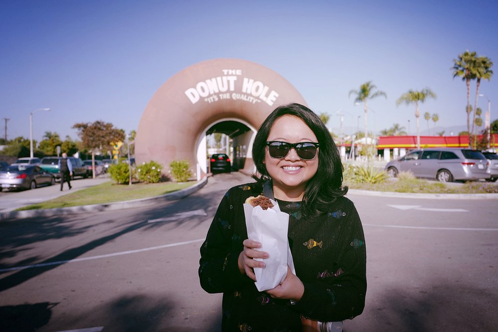 That feeling when you've just driven through a donut to order a donut. So meta!
