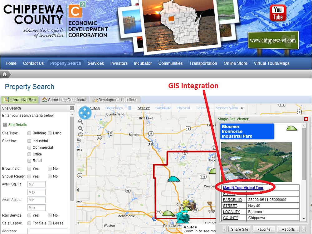 Integrates to Compliment GIS