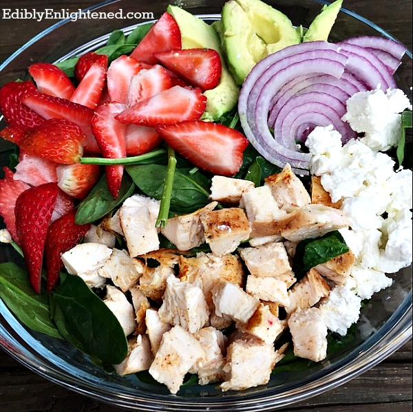 strawberry-spinach-salad-balsamic vinaigrette-2