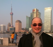 Chris doing VOC work in Shanghai.