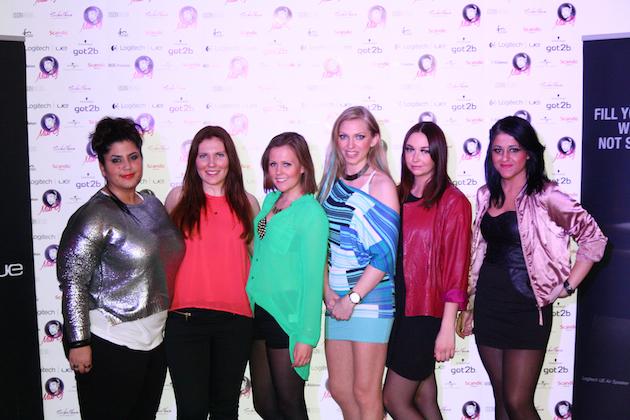 The talented finalists:  DJ Bilge, Lina Lindström, Sain D'esprit, Dj Anneli, PAULA, Rojin Kolanc