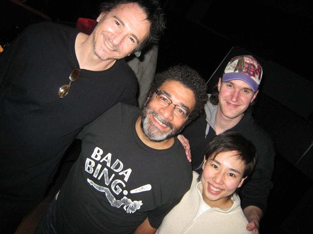 Terry, Lenny, Malcolm & Mamiko