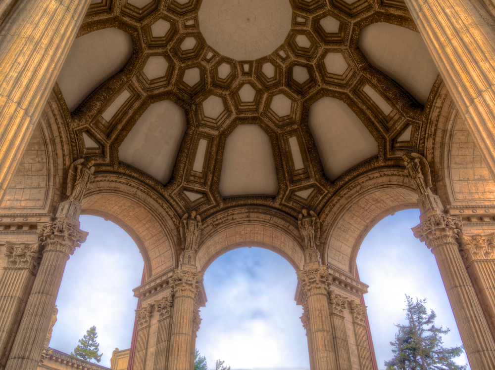 Under The Dome, Palace of Fine Arts