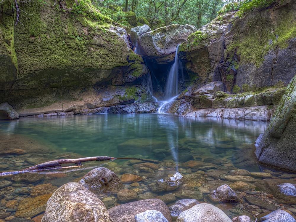Devil's Punchbowl Falls, Angwin CA