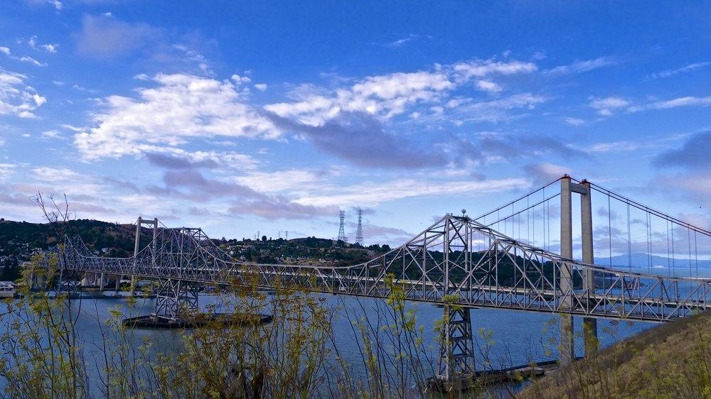 Carquinez Bridges in Vallejo