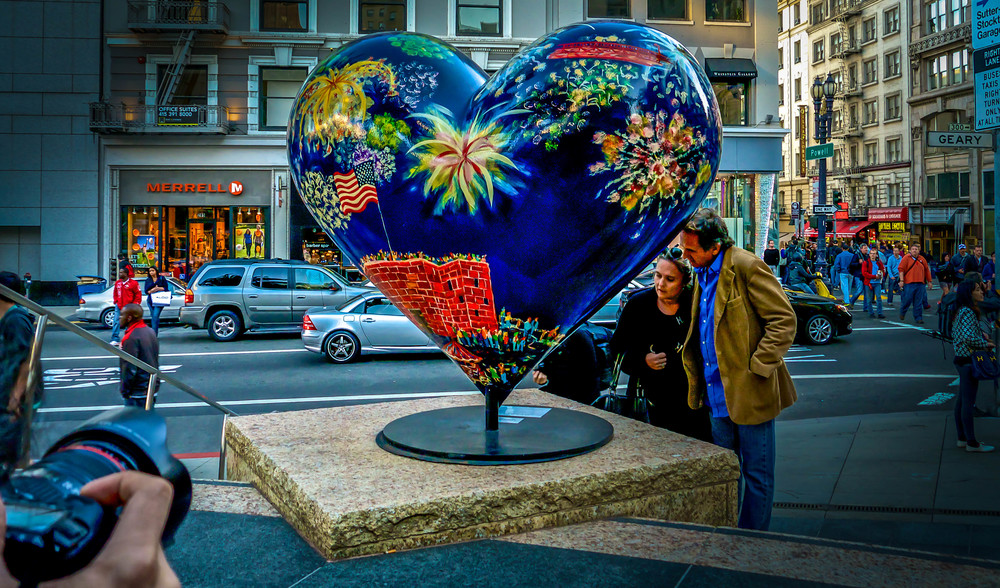Hearts of San Francisco at Union Square