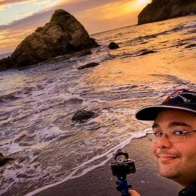 Selfie @ Muir Beach