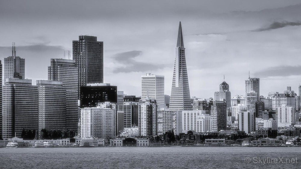 This might be my last shot of the Skyline that focuses on the Transamerica Pyramid.