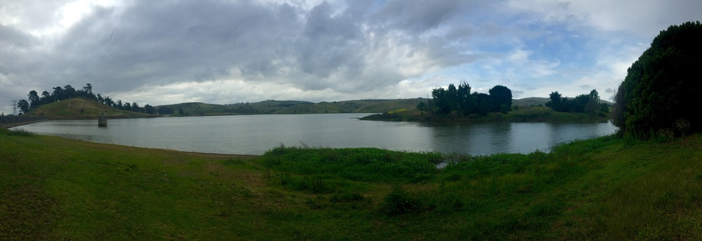 Lake Herman, Benicia - iPhone panorama